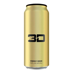 3D ENERGY DRINK Energy Drink (Gold (Pineapple Coconut)  , 473ml)