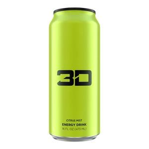 3D ENERGY DRINK Energy Drink (Green (Citrus Mist)  , 473ml)