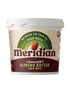 MERIDIAN FOODS Almond Butter (Smooth, 454g)