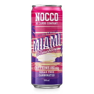 NOCCO BCAA (Miami Strawberry, 105mg)