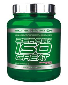 SCITEC NUTRITION Zero Sugar/Fat Isogreat